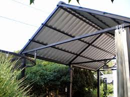 metal roof patio cover plans