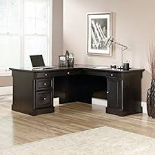Bush Bennington L Shaped Desk Bush Bennington 71w L Desk In Mocha Cherry Kitchen