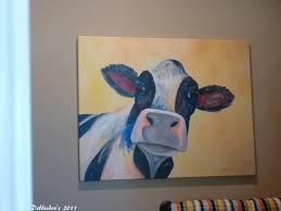 cow home decor and rustic wood debbiedoos