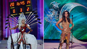 miss universe pageant 2015 costumes for preliminary show border