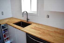 How To Install Butcher Block Countertops by Adventures In Staining Butcher Block What Worked What Didn U0027t