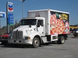 kenworth t300 hunt brothers pizza kenworth t300 box truck formerwmdriver