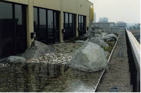 using boulders for a rooftop garden rockscapes artificial boulders