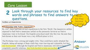 how do you find answers to research questions in this lesson you