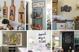kitchen wall cabinets ideas 26 kitchen wall decor ideas your empty walls beg