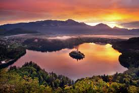 slovenia lake lake bled bohinj slovenia tatra photography