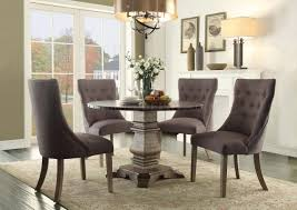 claire 5428 45rd dining table w options by homelegance