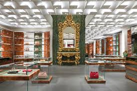renovation at dolce u0026 gabbana boutique store in milan