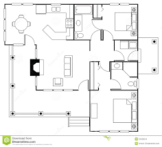 floorplan stock images image 23466044