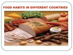 habits in different countries by jain r