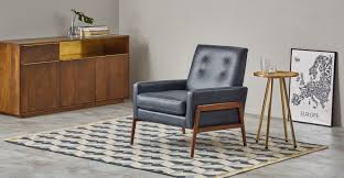 Oxford Armchair Cecil Armchair Oxford Blue Premium Leather Made Com