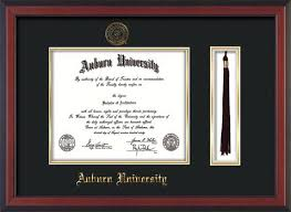diploma frames with tassel holder official auburn diploma frames bachelors masters phd