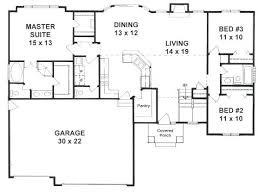 ranch floor plans with split bedrooms split bedroom floor plan ranch floor plans with split bedrooms top
