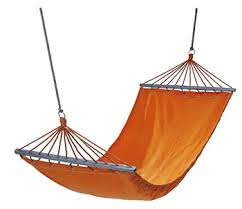 due to interest i sleep in a hammock instead of a bed ama iama
