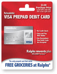 free prepaid cards reloadable prepaid debit card ralphs rewards plus prepaid debit card
