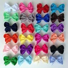 hair bows hair bow sets the solid bow