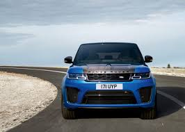 range rover sport blue range rover sport first zero emission plug in from land rover