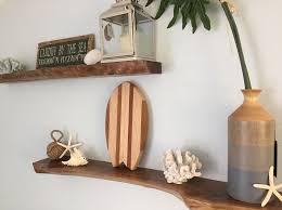 Decorative Wooden Shelf Edging 35 Best Live Edge Wall Decor Shelves Hook Racks Wall Art