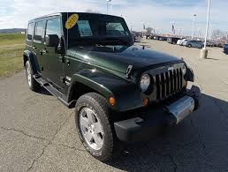 used jeep rubicon 4 door 2010 jeep wrangler unlimited sahara black martinsville in 4
