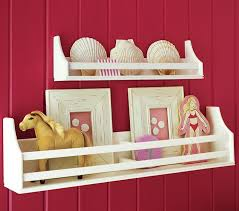 Childrens Wall Bookshelves by Collector U0027s Shelves Pottery Barn Kids