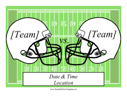 football flyer png