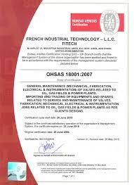 bureau veritas industrial services fitech industrial technology llc