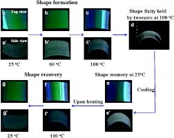 composite natural opal thermo responsive shape and optical memories of photonic composite
