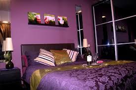 purple white leaf pattern fabric bed cover dark purple bedroom