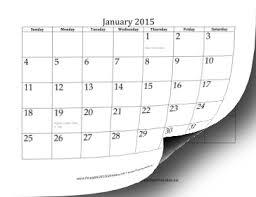 printable calendar year 2015 printable 2015 calendar