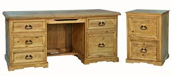 executive desk with file drawers rustic executive desk file cabinet set executive desk