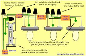 wiring diagram for multiple light fixtures diy vanity mirror