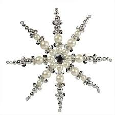 cheap beaded snowflake ornament craft find beaded snowflake