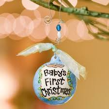baby blue ornaments wayfair