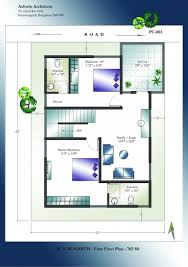 Bungalow House Plans Strathmore 30 by Incredible Floor Plan For North Facing Duplex House 30 50 House