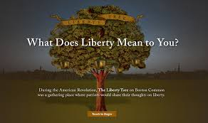 liberty tree history is