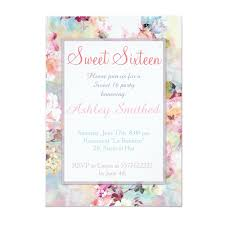 modern party invitations girly trend