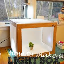 how to make a photo light box diy photo lightbox tutorial photography pinterest cardboard