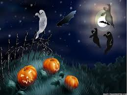 spooky halloween wallpaper wallpapersafari