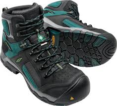 keen s boots canada keen utility s csa davenport mid wp 1017251 black teal