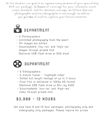 videographer prices prices