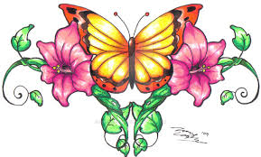butterfly vines in color by supersibataru on deviantart