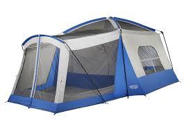 amazon com wenzel 8 person klondike tent blue sports u0026 outdoors