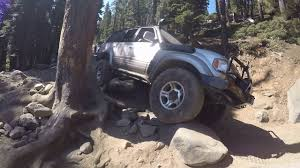 lexus lx450 wheels lexus lx450 470 toyota land cruisers rubicon trail pt 4 youtube