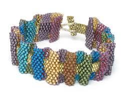ruffled ribbon ruffled ribbon bracelet beading jewelry store