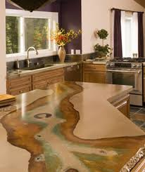 Concrete Kitchen Countertops Concrete Countertop You Can Look Polished Concrete Benchtops You