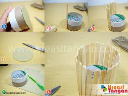 cara membuat kerajinan tangan menggunakan stik es krim gambar gambar rumah dari stik info lowongan kerja id