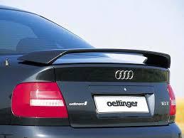 audi a4 spoiler oettinger trunk lid spoiler for audi a4 s4 b5 pg performance