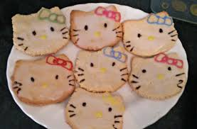 hello kitty cookies how to bake a butter cookie recipes on cut
