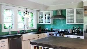 turquoise kitchen ideas teal kitchen backsplash kronista co