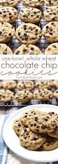 thanksgiving chocolate chip cookies one bowl whole wheat chocolate chip cookies